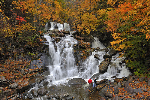 Catskill Mountains Waterfall